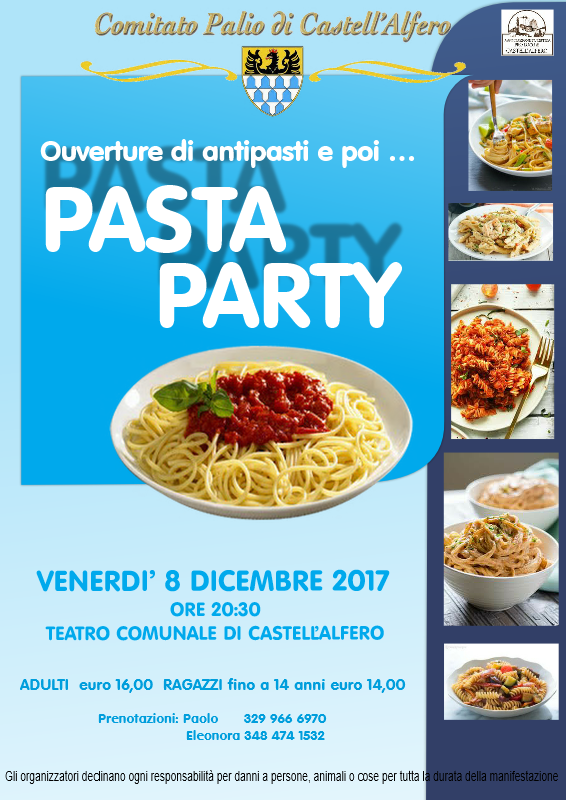 2017 pasta party